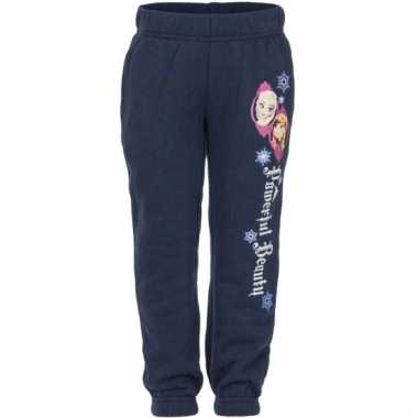 Navy frozen trainingsbroek anna en elsa