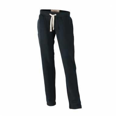 Vintage trainingsbroeken zwart met zakken voor dames